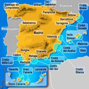 Spagna Costa e Isole
